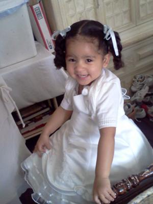 Ahmelia just got done getting dressed for easter