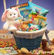 Easter basket with candy