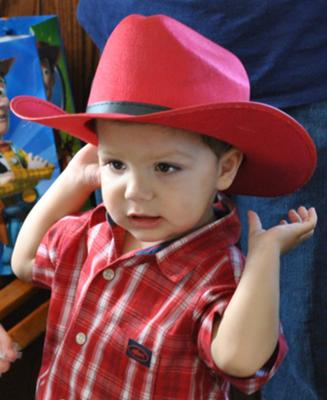 Jayden's second birthday