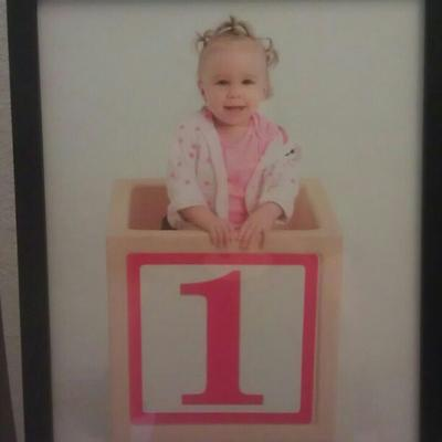 Shayna Roses first birthday picture!!