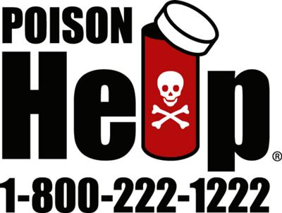 CALL POISON CONTROL 24/7 for Help & First Aid