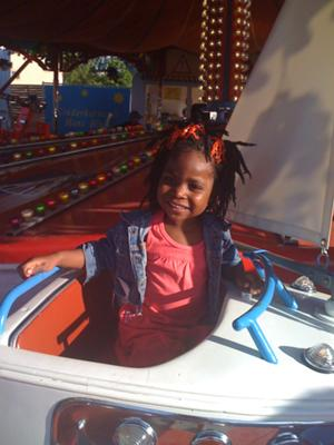 Zuri at the Volksfest :)